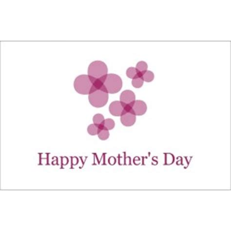 Mothers Day Cards Templates Microsoft Word by Templates S Day Card With Flowers 1 Per