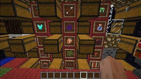 minecraft chest room cool storage room ideas minecraft images