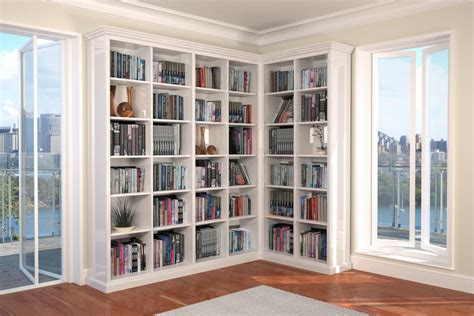 Small Bookcase White Bookshelf Marvellous L Shaped Bookcase L Shaped Bookcase