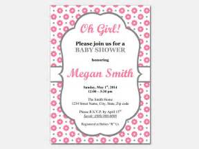 Baby Shower Invitations Free Printable Templates by Baby Shower Invitation Templates Free Wblqual