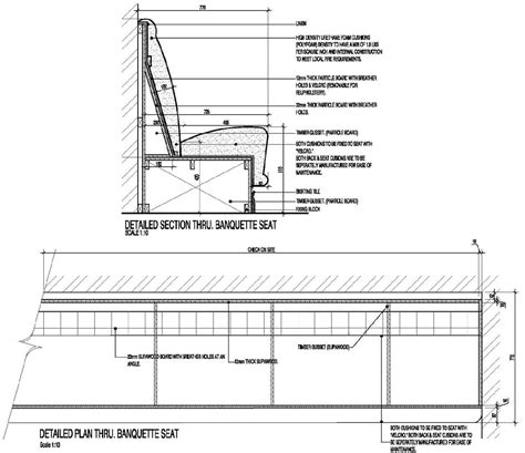 Banquette Section by Booth Seating Backrest Incline Angle Search