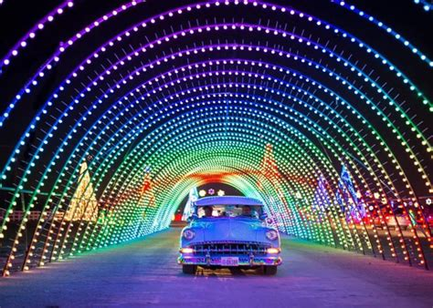 drive through lights utah in color is utah s largest drive thru light