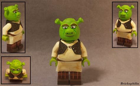 Figure Shrek shrek custom minifigure