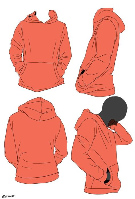 how to draw hoodies best drawing reference ideas on reference