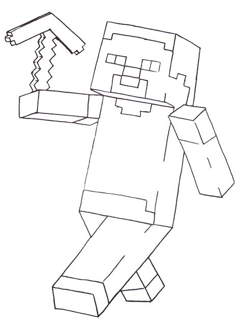 coloring pages minecraft minecraft steve coloring pages printable color sheets