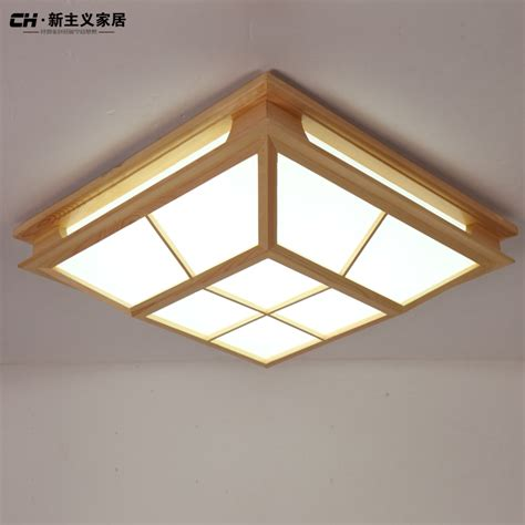 Online Buy Wholesale Japanese Ceiling Light From China Wooden Ceiling Light