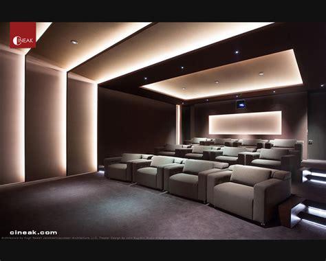 Home Theater Seating Ideas Elegant Custom Home Theater Design