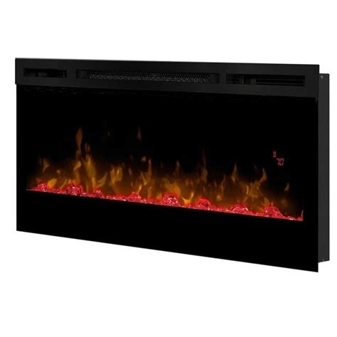 dimplex prism 34 quot wall mount linear electric fireplace