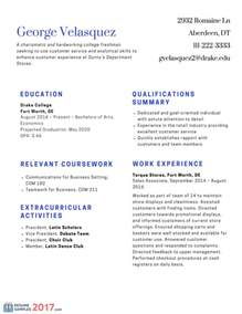 Resume In 2017 by Best Resume Samples For Freshers On The Web Resume