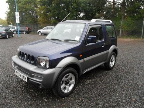 Suzuki Jimny 2006 Used 2006 Suzuki Jimny Estate 1 3 Vvt Jlx Petrol For