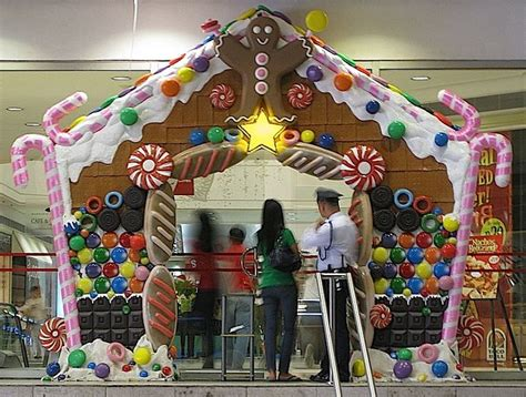 gingerbread commercial mall decorations 30 best gingerbread house images on ideas gingerbread houses and