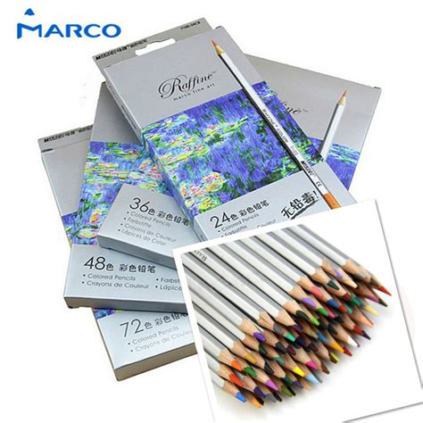 Pensil Warna 12 Color marco raffine pensil warna drawing sketches 24 colors multi color jakartanotebook
