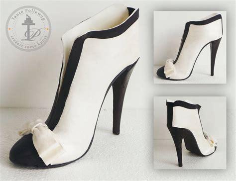 high heel shoe cake template sugar high heel shoe chanel by tantepollewop