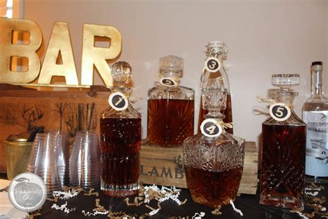 whiskey themed events the ultimate manly themed party guys birthday ideas
