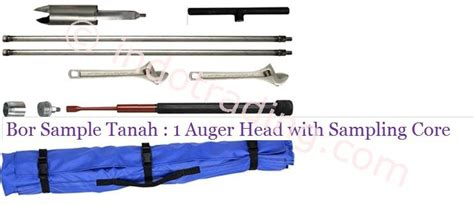 Bor Tanah sell drill soil sle 1 auger with sling