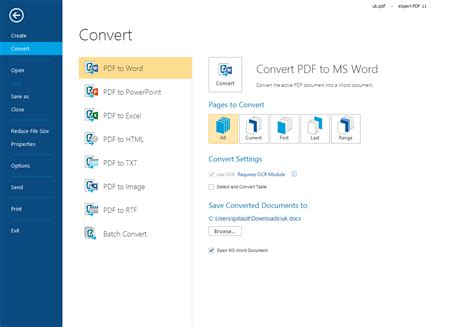 convert pdf to word pdf expert expert pdf 12 converter the fastest easiest way to