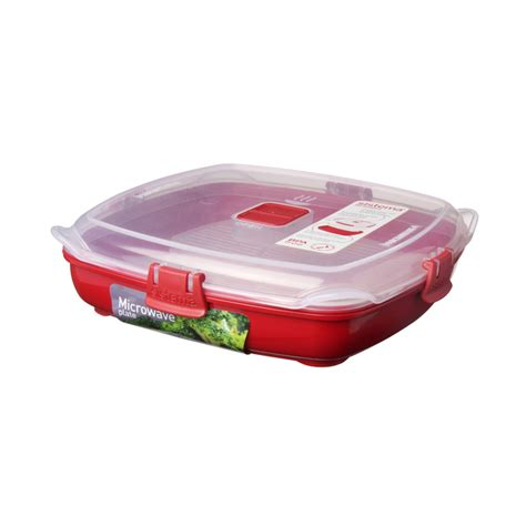 sistema plastic microwave plate 880ml from ocado