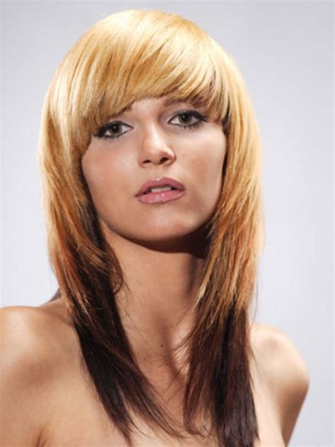 how to cut hair with feathing and bangs collection of feather cut hair styles for short medium