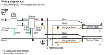 lutron 3 wire dimming wiring diagram wiring diagram website