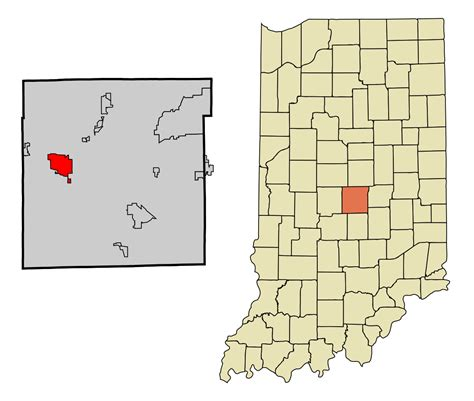 Marion County Search Indiana File Marion County Indiana Incorporated And Unincorporated Areas Speedway Highlighted