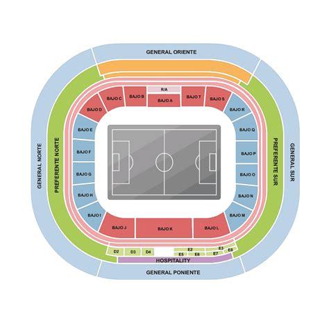 estadio azteca detailed stadium seating chart nfl mexico tickets f 252 r oakland raiders vs houston texans estadio