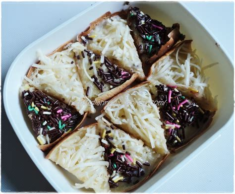 resep cara membuat martabak manis mini coklat keju enak resep martabak