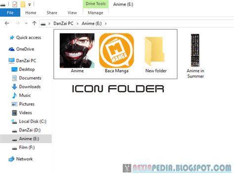 cara merubah vidmax deengan anonytun cara mudah merubah icon folder dengan menggunakan gambar
