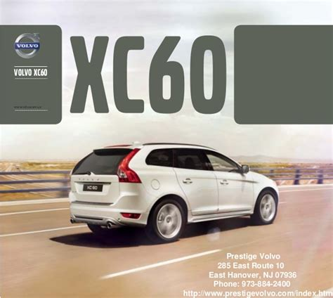 volvo parts nj 2013 volvo xc60 brochure new york volvo dealer