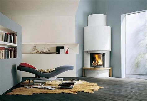 Modern Corner Fireplaces by Modern Fireplace Design Ideas Neiltortorella