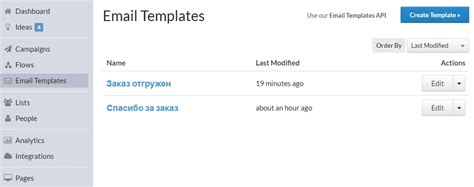 Shopify Email Templates