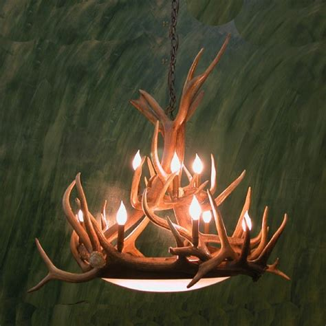 Elk Antler Chandeliers Dallas Dome Elk Antler Chandelier