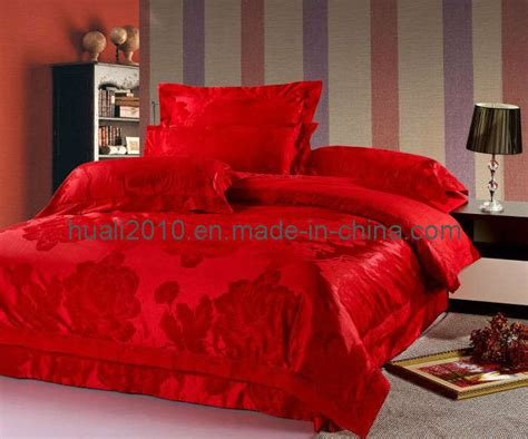 Wedding Bed Sheets by China New Design Wedding Bed Sheet Har046 China