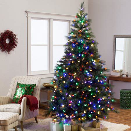 walmart canada four foot xmas trees 7 5 ft pre lit pine tree walmart