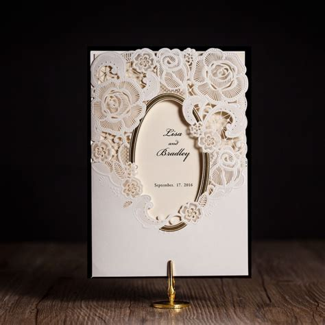 aliexpress buy wishmade cw5185 white royal wedding invitation card greeting card with