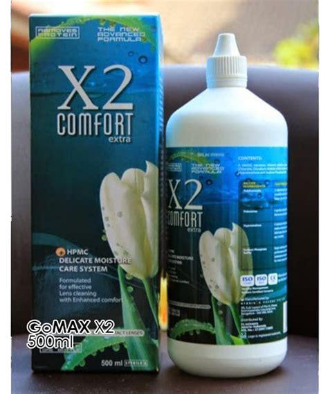 Cairan Air Softlens Bio True Multi Purpose Solution jual air softlens x2 comfort 500ml di lapak optik gomax
