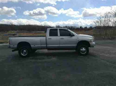 2004 Dodge Dually Purchase Used 2004 Dodge Ram 3500 4x4 Dually Diesel In