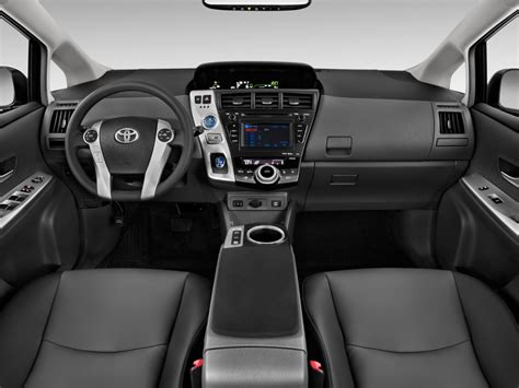 Car Dashboard Types by Image 2014 Toyota Prius V 5dr Wagon Five Natl Dashboard