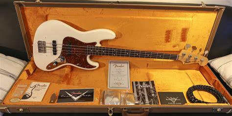 fender custom shop 2012 61 closet classic jazz bass image
