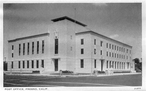 Fresno Post Office Hours postcards from fresno county ca