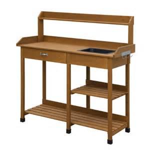 worktop bench convenience concepts deluxe worktop potting bench