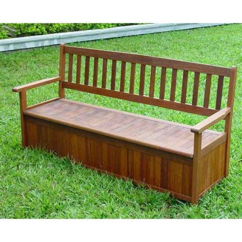 outdoor bench with storage 17 best ideas about bench seat with storage on pinterest