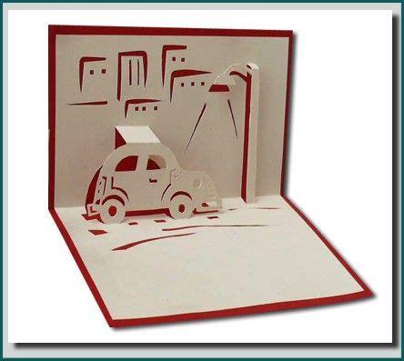 pop up car card template car pop up card 검색 renz 카드