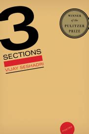 3 Sections By Vijay Seshadri by 3 Sections Graywolf Press