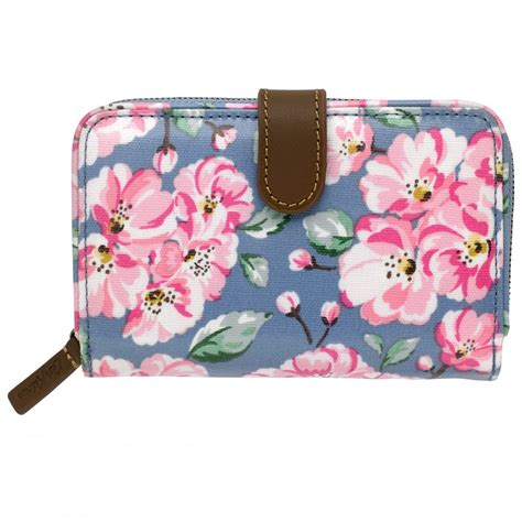 Cath Kidston Blossom cath kidston blossom bunch folded zip wallet 555463