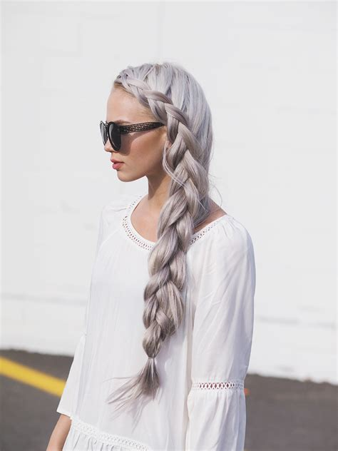 how to keep braids from coming a loose at ends how to leave your braids loose on the end side braid