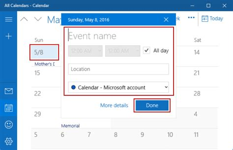 Add Event To Calendar 2 Ways To Add New Event In Calendar On Windows 10