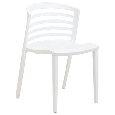 White Plastic Stackable Chairs by Curvy Stackable White Plastic Chair Dcg Stores