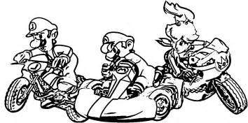 mario kart 8 coloring pages mario kart coloring pages many image collections