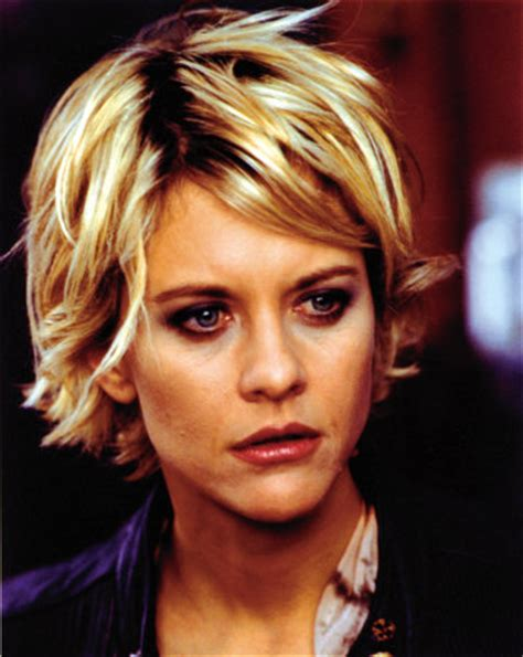 meg ryan s hairstyles over the years quick question why do you guys cut your hair short when