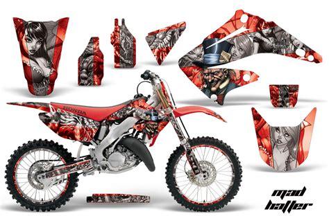 Bmw G450x Aufkleber by Honda Cr 125 250 02 09 Graphics Kit Mh Rs Nps